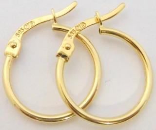 51ec97510 Zlaté kruhy / půlkruhy | Zlatnictví-hodiny diamanty, prsteny, bílé ...