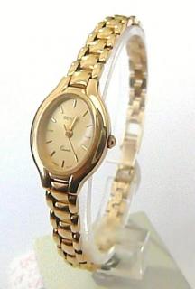 Luxusní dámské zlaté švýcarské hodinky GENEVE 585 22 b675abaf4c