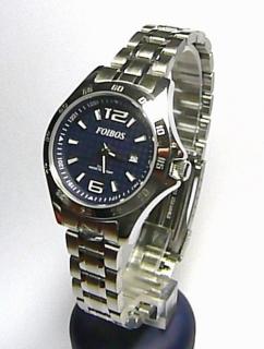Dámské vodotěsné sportovní ocelové hodinky Foibos 2539 - 10ATM 9f4a22561d7