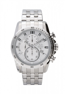 Ocelové vodotěsné chronografy náramkové hodinky JVD seaplane JS22.2 10ATM 67b782a6bd