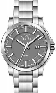 Vodotěsné odolné pánské hodinky JVD steel W48.1 10ATM 5b706e65d0