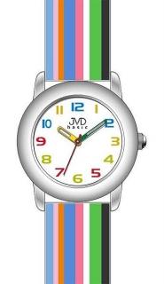 f4a5eebc0ff Dětské náramkové hodinky JVD basic W58.3 s duhovým páskem