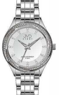 Dámské luxusní šperkové hodinky hodinky JVD steel J4121.2 s římskými  číslicemi 25fc8f691e