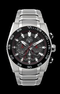 Luxusní vodotěsné sportovní hodinky JVD seaplane W49.3 chornograf se  stopkami bcdb07723d