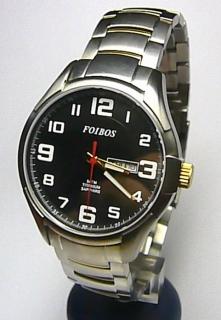 Titanové luxusní vodotěsné odlehčené hodinky Foibos 90713G 5ATM SAFÍROVÉ  SKLO e38016f024