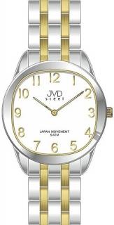 4dbf2204854 Pánské ocelové náramkové hodinky JVD steel J4116.2 - 5ATM