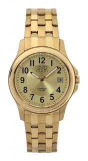 Vodotěsné luxusní hodinky JVD steel J1092.2 - 10ATM se safírovým sklem 59311a30755