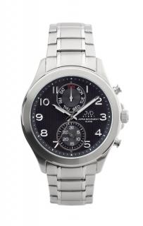 Vodotěsné chronografy ocelové hodinky JVD steel J1097.1 6d7bc96781