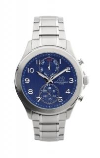 Vodotěsné chronografy ocelové hodinky JVD steel J1097.3 f33b67745c2
