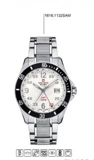 Luxusní pánské vodotěsné hodinky Swiss Alpine Millitary Grovana 1616.1132SAM 1541ba3b2d