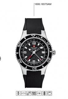 Luxusní pánské vodotěsné hodinky Swiss Alpine Millitary Grovana 1606.1837  SAM ef645116945