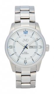 c4c401adf81 Pánské ocelové vodotěsné hodinky JVD seaplane JC644.1 - 10ATM s datumovkou