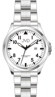 Pánské vodotěsné ocelové hodinky JVD J1100.1 s datumovkou 10ATM 090e30d91d