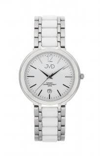 Luxusní keramické dámské náramkové hodinky JVD chronograph J1104.1 ce6de9626b