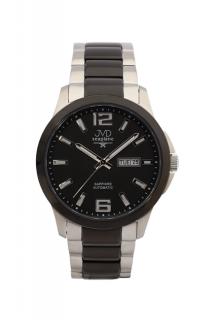 8e043c9d242 Samonatahovací automaty pánské chronografy hodinky JVD seplane JS29.1 se  safírem