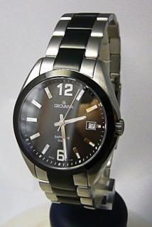 Pánské švýcarské hodinky Grovana 1554.1147 se safírovým nepoškrabatelným  sklem 74eecaf800