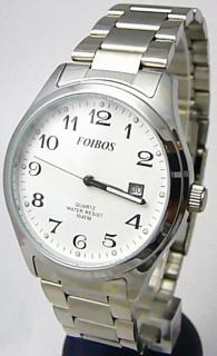 f938ceec39e Pánské vodotěsné ocelové kovové čitelné hodinky Foibos 2229.1 - 10ATM