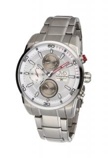 Pánské luxusní vodotěsné chronografy hodinky JVD seaplane W82.3 - 10ATM 26a265f3b7