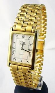 Luxusní společenské pánské švýcarské zlaté hodinky Philippe Michelle 585  62 43d8de3171c
