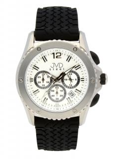 Luxusní vodotěsné pánské hodinky s chronografem JVD C2079.1 117d7c13217