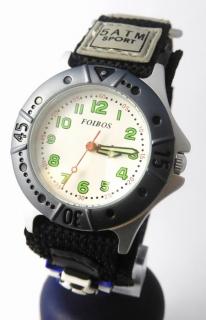 Chlapecké sportovní dětské hodinky Foibos 2589.1 pro malé fotbalisty - 5ATM e2174ee03e
