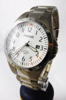 Luxusní pánské titanové antialergické čitelné hodinky Foibos 2358.2 - 10ATM 2cef054d8f