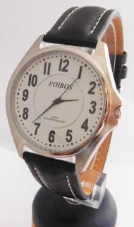 eb1945c5a4d Čitelné ocelové pánské značkové voděodolné hodinky Foibos 3883.6 - 5ATM