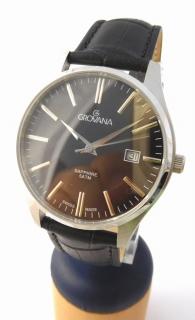 Pánské švýcarské luxusní hodinky Grovana 1568.1537 se safírovým nepoškr.  sklem b1ce7b09b9