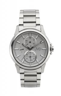 Pánské mohutné ocelové vodotěsné hodinky JVD seaplane JC664.1 - 10ATM 5cb7309fe76