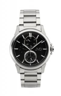 Pánské mohutné ocelové vodotěsné hodinky JVD seaplane JC664.3 - 10ATM ce09f3c8fb8