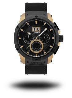 Luxusní nadčasové vodotěsné hodinky LOSER Vision ROYAL GOLD e3436226f1c