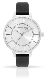 88d167943d6 Dámské luxusní designové hodinky SUNDAY ROSE Classic FOREVER BLACK