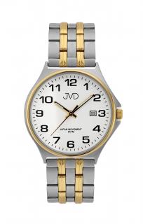 181c2fa09d1 Pánské ocelové čitelné náramkové hodinky JVD J1114.1