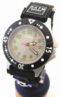 758e3cdcd47 Chlapecké sportovní dětské hodinky Foibos 2589.3 pro malé fotbalisty - 5ATM