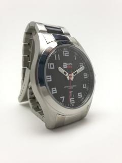 Pánské levné ocelové vodotěsné hodinky BUD-IN steel B1701.2 - 10ATM 204120c496
