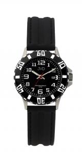 1366dfcc494 Černé chlapecké vodoodolné dětské náramkové hodinky JVD J7176.1