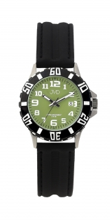 f84c58eb4d3 Černé chlapecké vodoodolné dětské náramkové hodinky JVD J7176.5