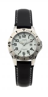 Černé chlapecké vodoodolné dětské náramkové hodinky JVD J7177.2 b14d22449f