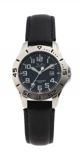 Černé chlapecké vodoodolné dětské náramkové hodinky JVD J7177.3 a6658b3990