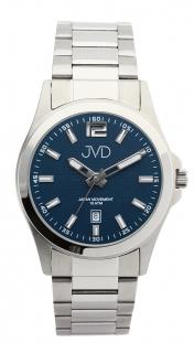 Luxusní moderní vodotěsné náramkové hodinky JVD steel J1041.13 - 10ATM 5b1b702d26